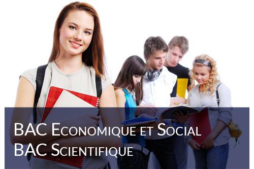BAC Economique & Social – Scientifique