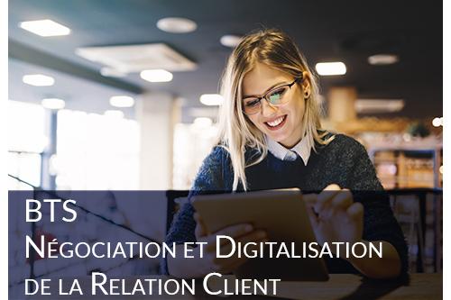 BTS Négociation et Digitalisation de la Relation Client