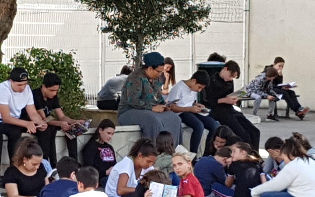 Les ateliers de lecture «  chacun son livre »